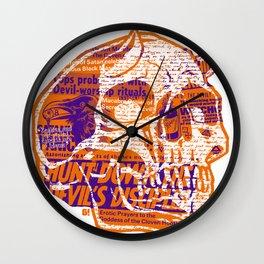 Satanic Panic Wall Clock