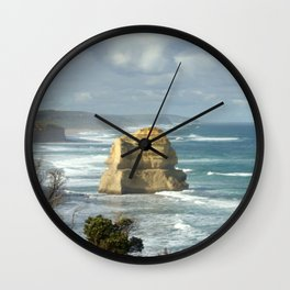 Gigantic Rock Stacks Wall Clock