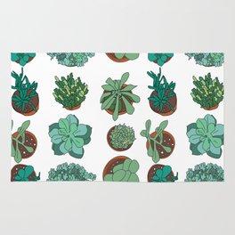 LOVE succulents Rug