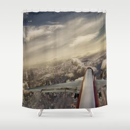 Kennedy tower Iberia 6253 Shower Curtain