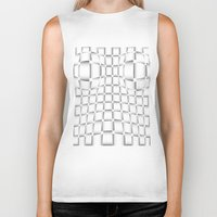 bands Biker Tanks featuring intertwined bands by siloto