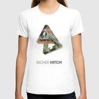 escher T-shirts featuring escher hitch by Vin Zzep