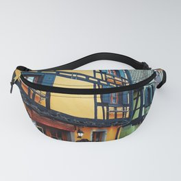 Riquewihr streets Fanny Pack