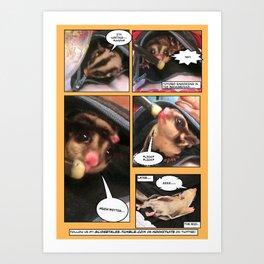 Glidertales Issue 1 - 2 of 2 Art Print
