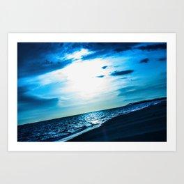 Blue Dream - ILL Design - Roth Gagliano Art Print