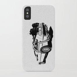 DeLorean / BW iPhone Case