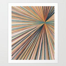 Summer Burst Art Print Art Print