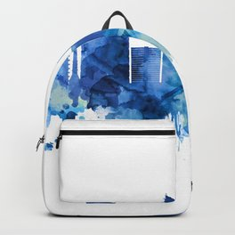 Managua Nicaragua Skyline Blue Backpack