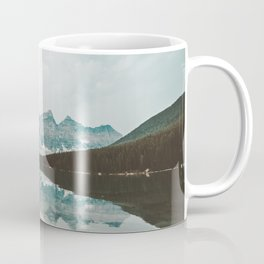 Moraine Lake Mountain Reflection Summer Coffee Mug