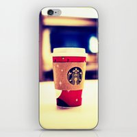 starbucks iPhone & iPod Skins featuring Starbucks  by Jo Bekah Photography