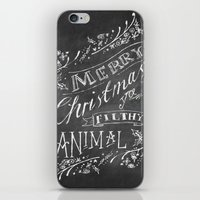 home alone iPhone & iPod Skins featuring Home Alone Christmas card by sootielimetree