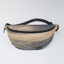 Where The River Kisses The Sea Fanny Pack