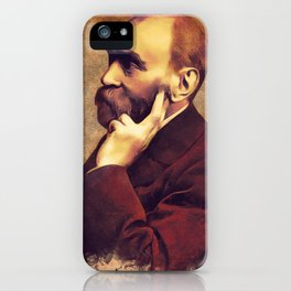 Alfred Nobel, Inventor iPhone Case