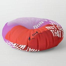 Horizon Ahead Floor Pillow