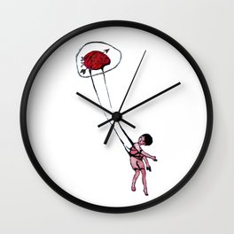 my sight looked back Wall Clock
