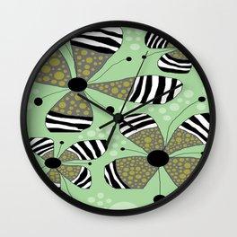 FLOWERY SOPHIE  / ORIGINAL DANISH DESIGN bykazandholly Wall Clock