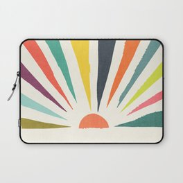 Rainbow ray Laptop Sleeve