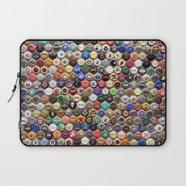 Beer and Ale Bottle Caps Laptop Sleeve