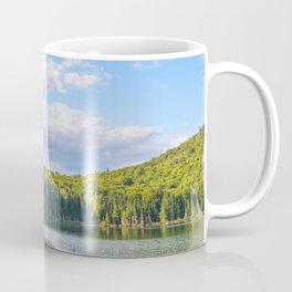 Lac in Mont-Tremblant national park in sunshine Coffee Mug