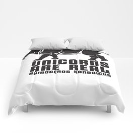 Unicorns Are Real 3 Comforters