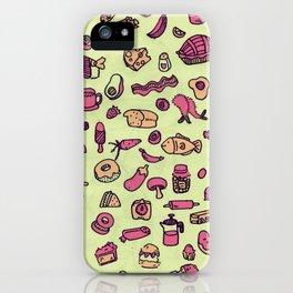 Cravings in Honeydew iPhone Case