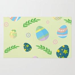 Easter eggs pattern Rug