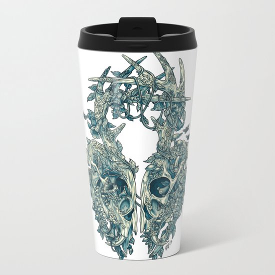 Lichen Metal Travel Mug