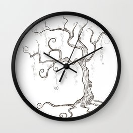 Mindless Tree Wall Clock
