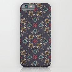 Doodle damask composition Slim Case iPhone 6s
