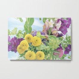 """Splash of Color"" Floral Art by Murray Bolesta Metal Print"