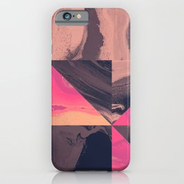 Triangular Magma iPhone Case