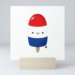 Patriotic Popsicle Mini Art Print