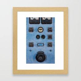 Electrical Panel Framed Art Print