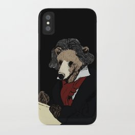 Bearthoven iPhone Case