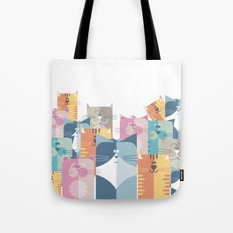 Too Many Cats? Tote Bag