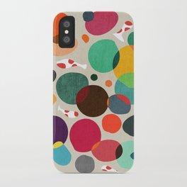 Lotus in koi pond iPhone Case