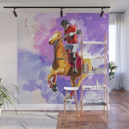 power of polo Wall Mural