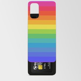 Solid Rainbow Android Card Case