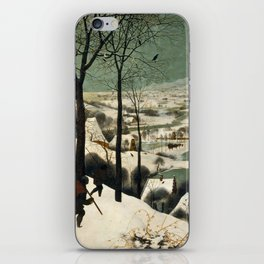 Hunters in the Snow (Winter) iPhone Skin