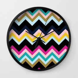 ZigZag #5 Wall Clock