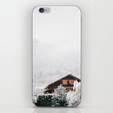 Annecy under the snow - French Alps iPhone & iPod Skin