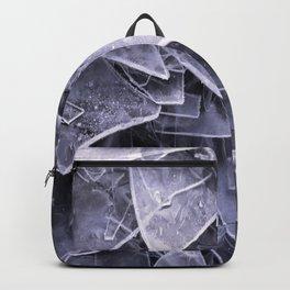 Cracked Ice Tiles In Lake Shore #decor #buyart #society6 Backpack