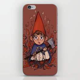 Over the Garden Wall Print: Wirt iPhone Skin