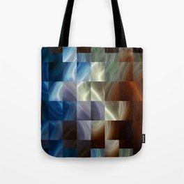 Metal Squares Tote Bag