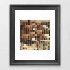 abandoned warehouse (memories of sf) Framed Art Print