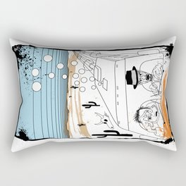 Fear and Loathing in Albuquerque II Rectangular Pillow