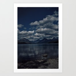 Lake Adventure Art Print