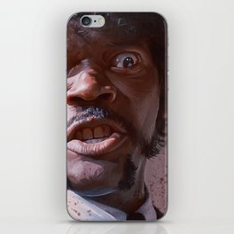 Great Vengeance And Furious Anger - Pulp Fiction iPhone Skin