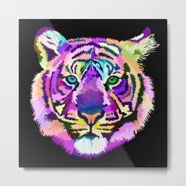 popart tiger Metal Print