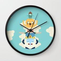 Adventure Totem Wall Clock
